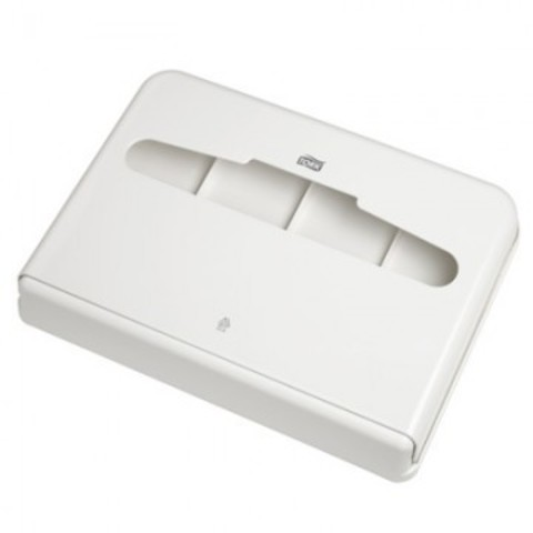 Диспенсер для покрытий на унитаз Tork Elevation V1 344080 пластик белый