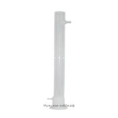 Стеклянная угольная колонна 500х52