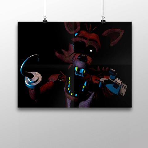 Плакат с Фокси №1