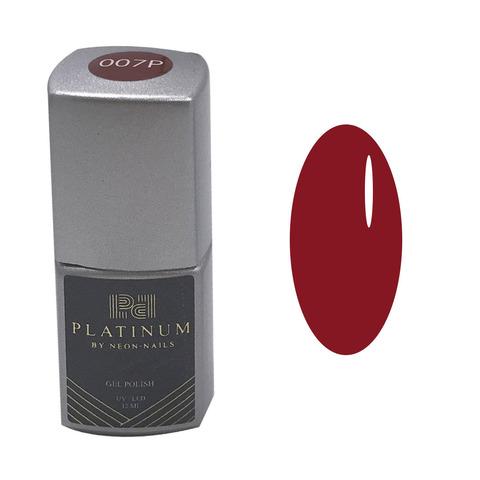 PLATINUM, гель-лак Scuderia № 007P , ( 12 ml) ярко-красный