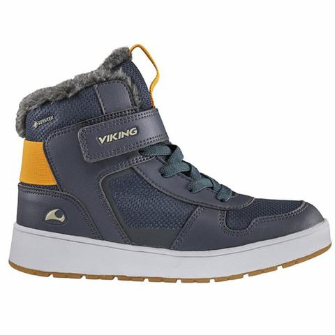 Viking Jack GTX Jr Navy зимние ботинки для мальчика