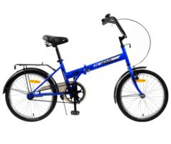 Складной велосипед Novatrack TG-30 синий