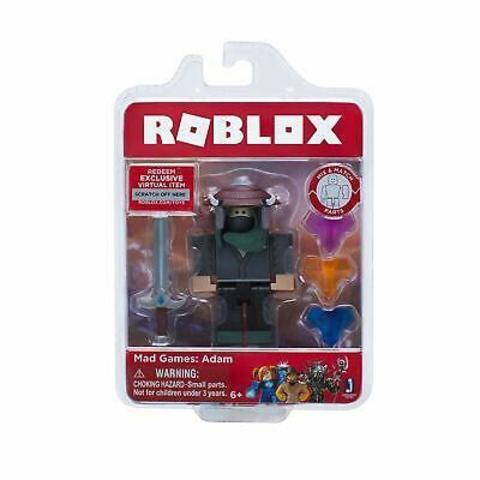 Игровая коллекционная фигурка Jazwares Roblox Core Figures  Mad Games: Adam