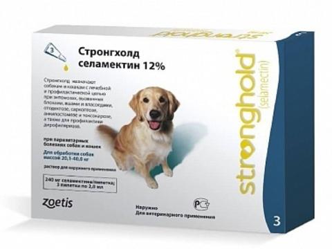 Стронгхолд для собак 20-40 кг