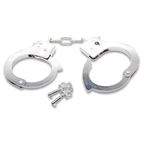 Полицейские никелированные наручники Official Handcuffs