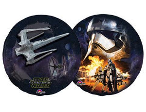 Фольгированный шар Звездные войны 7 Fighter