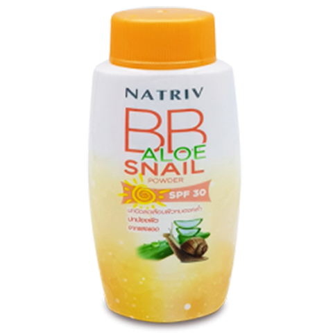 Natriv BB Aloe Snail Powder SPF30 / Улиточная BB пудра с алоэ вера SPF30 (25 гр)