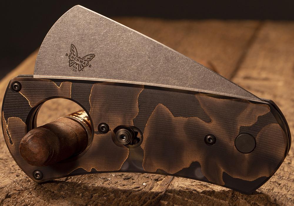Нож Benchmade 1500-191 Cigar Cutter - фотография