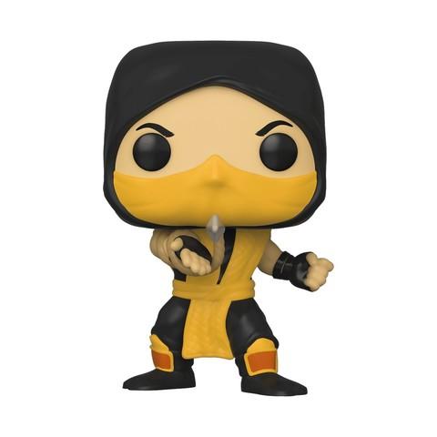 Фигурка Funko POP! Vinyl: Games: Mortal Kombat: Scorpion 45110