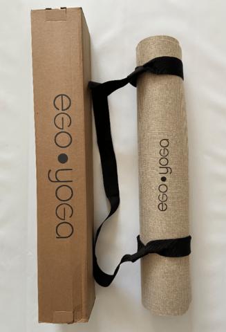 Джутовый коврик для йоги Mandala Jute Color 181*61*0,3 см