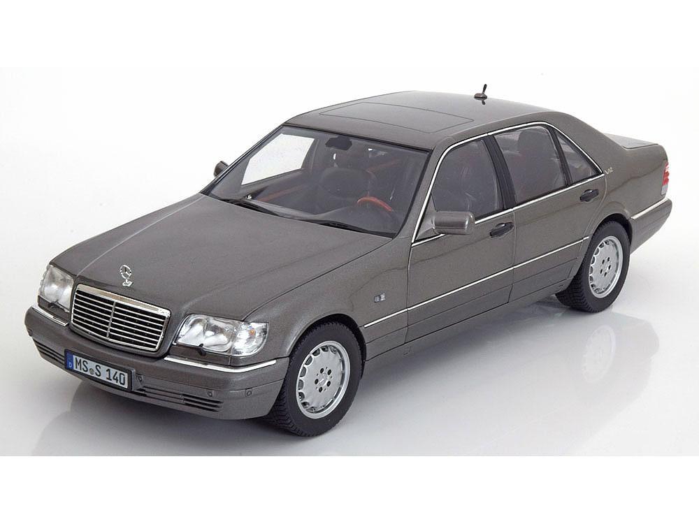Коллекционная модель Mercedes-Benz W140 S600 1997 Grey Metallic