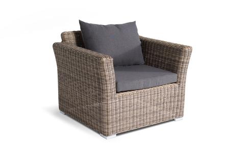 Кресло «Капучино» из искусственного ротанга