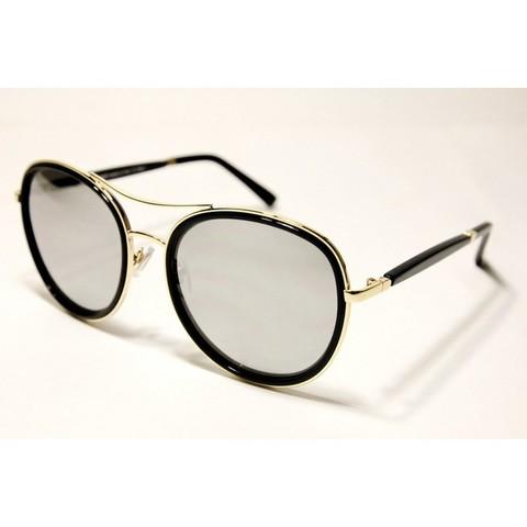 Солнцезащитные очки 87001s Серебряные зеркальные