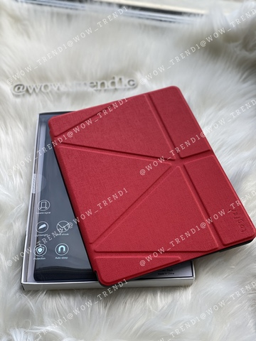 Чехол Origami Case iPad 9,7/Air 2/Air/2017' 18 leather embossing /red/