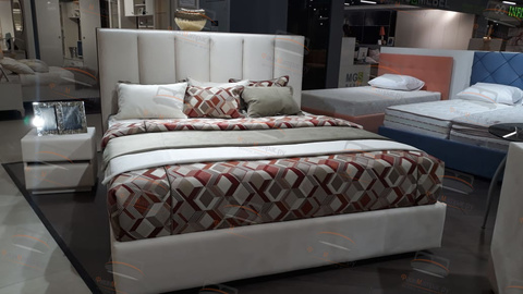 Кровать Sontelle Амонд живое фото