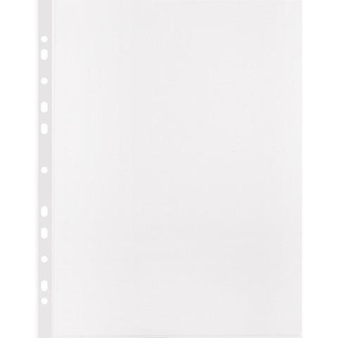 Файл-вкладыш Attache Economy Стандарт А4 прозрачный гладкий 100 штук в упаковке