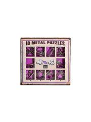 Набор Eureka Фиолетовый из 10 металлических головоломок