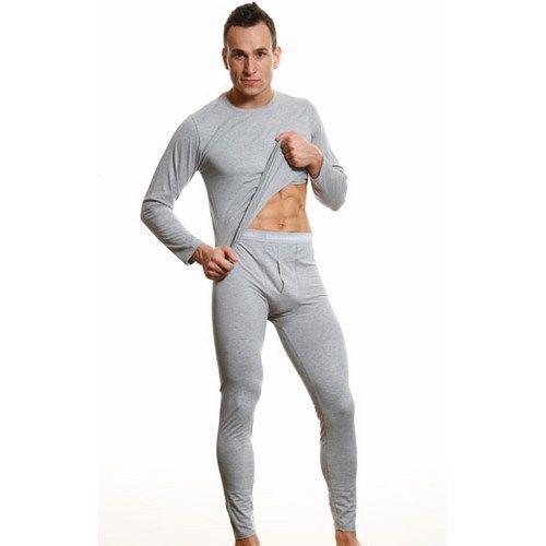 Мужская нательная кофта серая Calvin Klein Grey