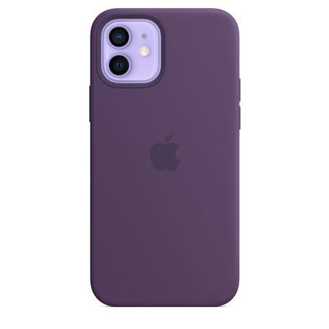 Чехол iPhone 12 Pro Silicone Case  /amethyst/