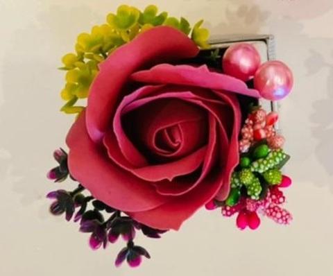 Aromalı sabun qızıl gül \  Ароматная мыльная роза (1 ədəd) çəhrayı