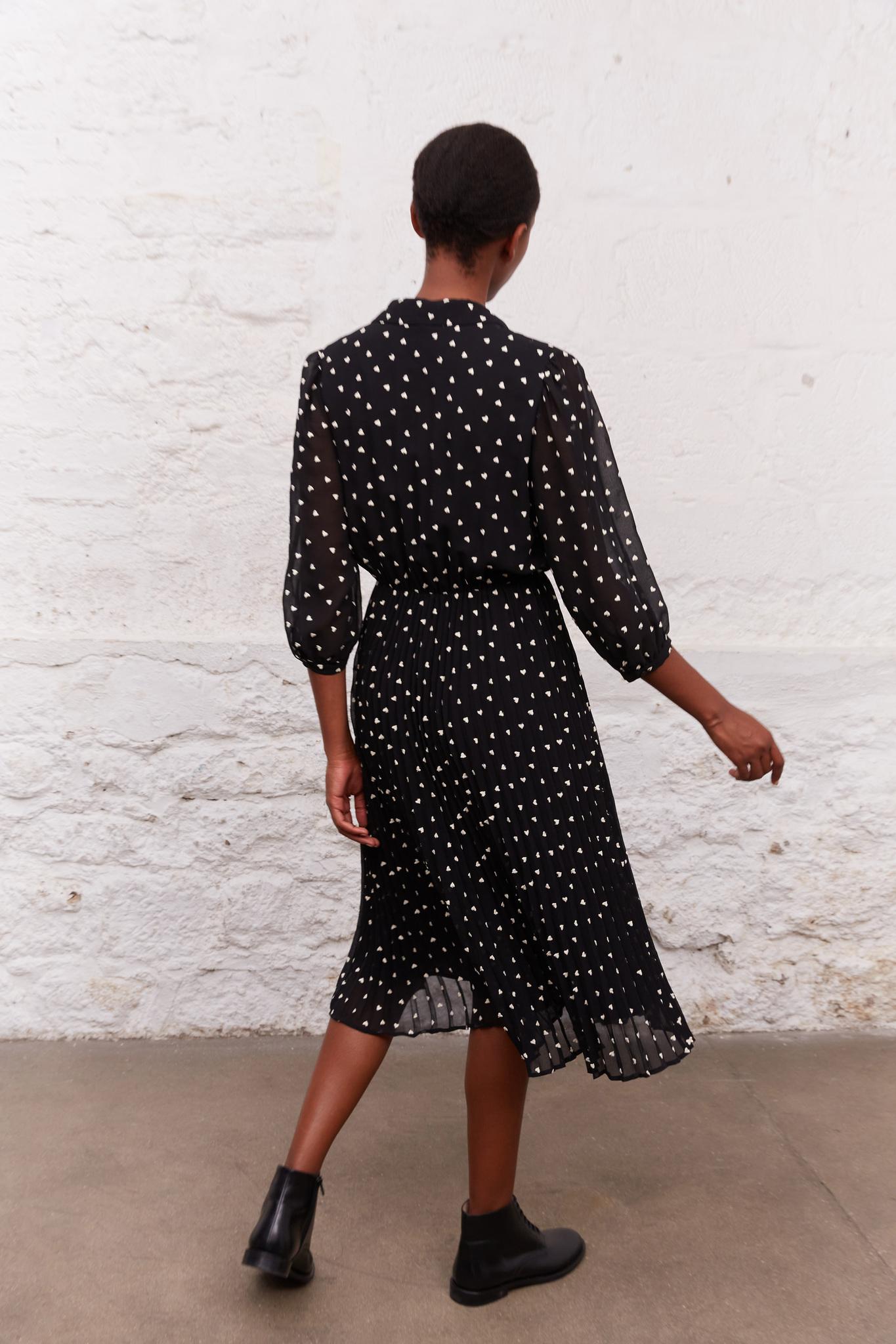 JANE - Платье с принтом в виде сердец
