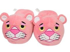 Розовая Пантера тапочки домашние без задника