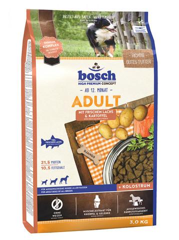 Bosch ( 3 кг) Adult Fresh Salmon & Potato