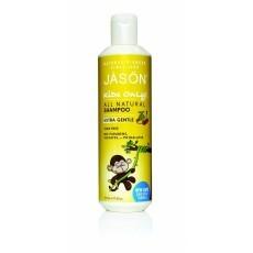 """Jason Детская линия: Детский шампунь для волос """"Экстра нежный"""" (Shampoo Extra Gentle), 517мл"""