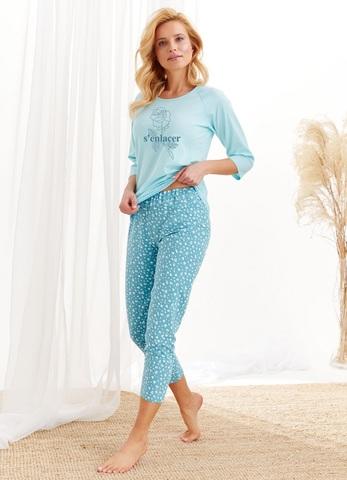 Пижама женская со штанами TARO 2443/2467 AW20/21 ROZA