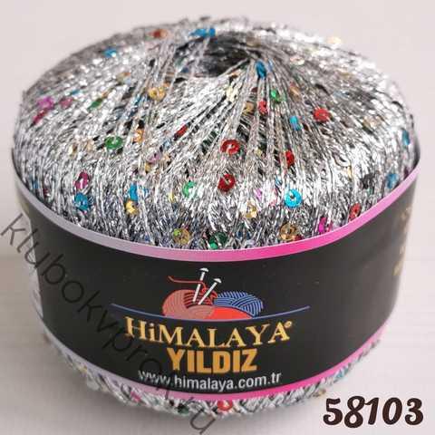 HIMALAYA YILDIZ 58103, Цветной серебряный