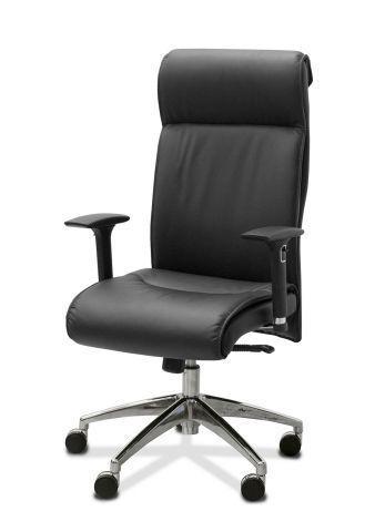 Dark Кресло руководителя эко (подлокотни 3D)
