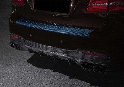 Карбоновая панель заднего бампера  для Mercedes GLS