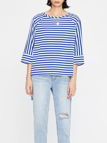 Купить Топ в морском стиле (синяя полоса) в Магазине тельняшек