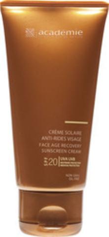 Academie Солнцезащитный регенерирующий крем для лица SPF 20 | Bronzecran Face Age Recovery Sunscreen Cream SPF 20+