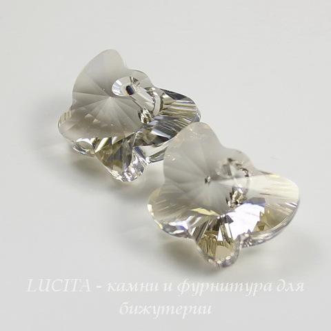 6754 Подвеска Сваровски Бабочка Crystal Silver Shade (18 мм)