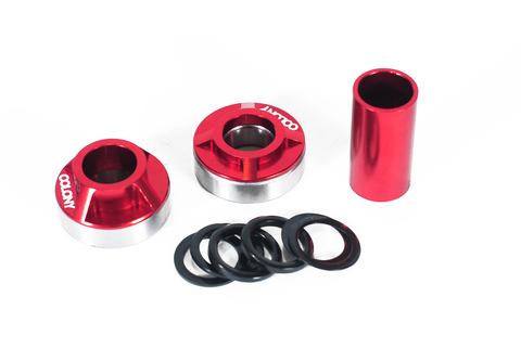BMX Каретка Colony MID BB Kit 22mm Red