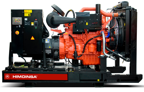 Дизельный генератор Himoinsa HSW-300 T5