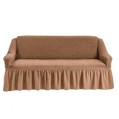 Чехол на трехместный диван, песочный