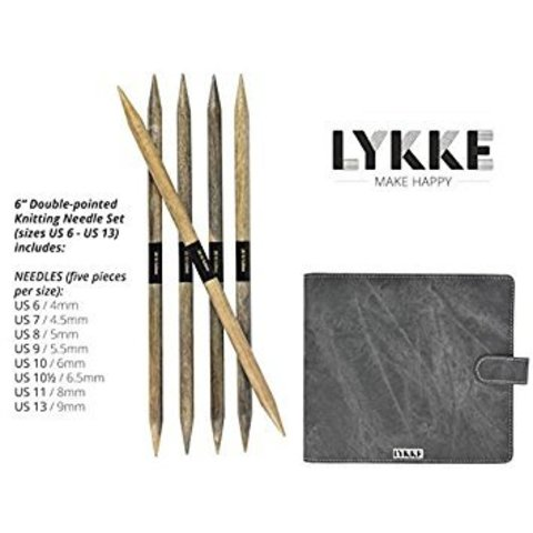 Набор чулочных спиц  LYKKE Driftwood