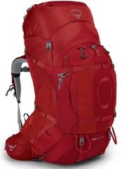 Рюкзак женский туристический Osprey Ariel Plus 85 Carnelian Red