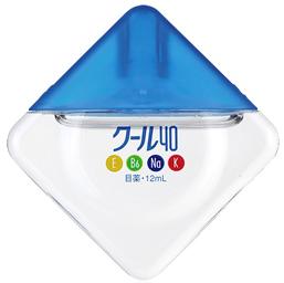 Rohto Cool 40 Alpha витаминизированные c охлаждающим эффектом капли для глаз 12мл