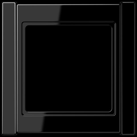 Рамка на 1 пост. Цвет Чёрный. JUNG A 500. A581SW