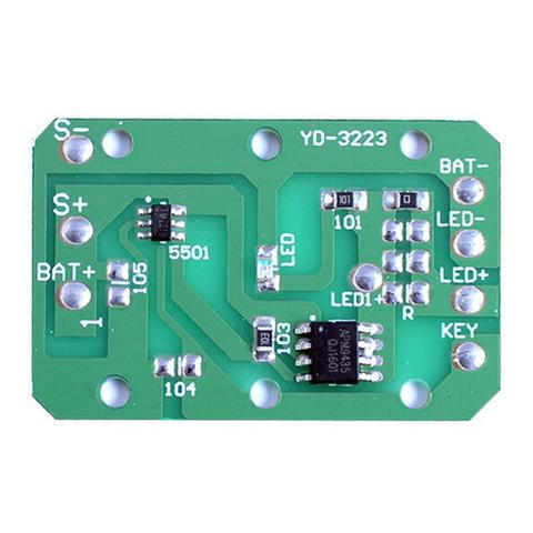 Драйвер цифровой для налобных фонарей 2199