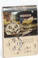 Вудик Тыква Wood Trick - деревянный конструктор, сборная миниатюрная модель, 3D пазл