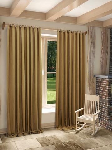 Готовые шторы Миранда светло-коричневый
