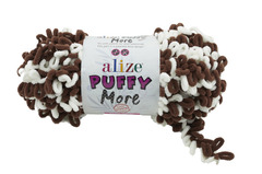 Пряжа Alize Puffy More цвет 6288