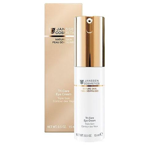 Janssen Mature Skin: Омолаживающий укрепляющий крем для контура глаз с комплексом Cellular Regeneration (Tri-Care Eye Cream)