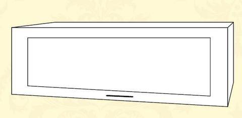 ШВГС 800 Шкаф верхний горизонтальный стекло