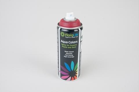 Спрей Краска Floralife 400мл Aqua бордовый