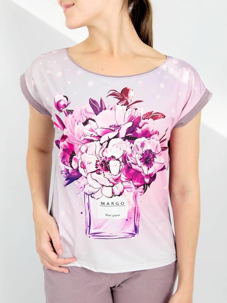 Margo Комплект женский футболка с брюками